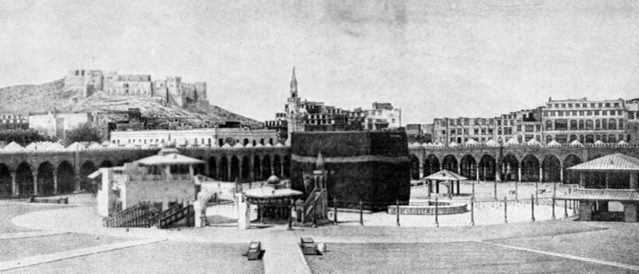 What is the History behind Building the Kaaba?